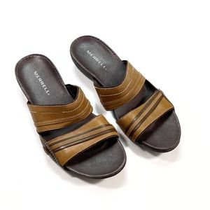 Merrell Brown Leather Sandals Size 9